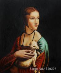 Фотоальбом подарочный Леонардо да Винчи, «Дама с горностаем»