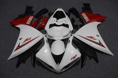 Комплект пластика для мотоцикла Yamaha YZF-R1 09-11 Бело-Красный