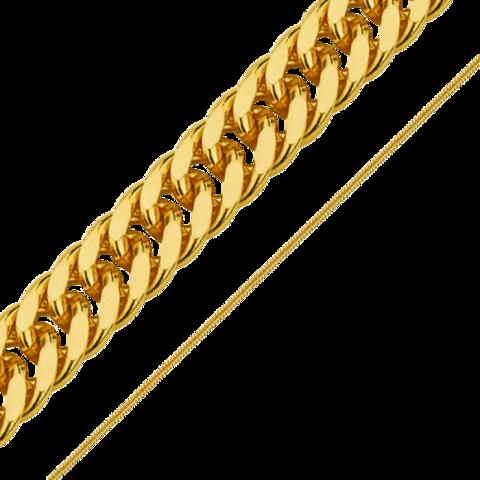 Цепочка Двойная панцирная 3 мм