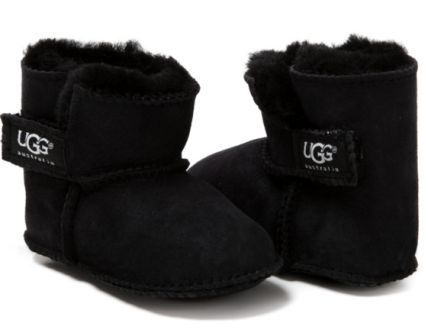 Пинетки Ugg Black