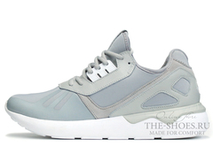 Кроссовки Мужские Adidas Tubular Runner Premium Grey White