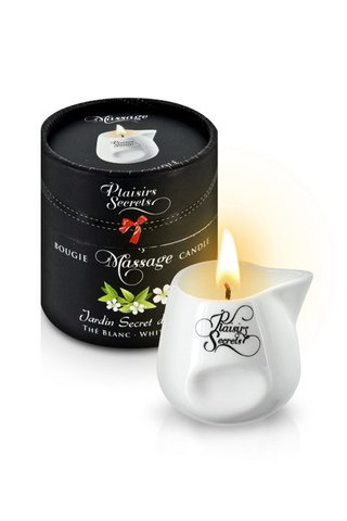 MASSAGE CANDLE WHITE TEA 80 мл (белый чай)