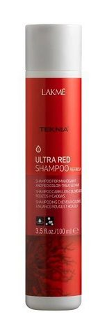 Шампунь Lakme Ultra red shampoo refresh (100 мл)