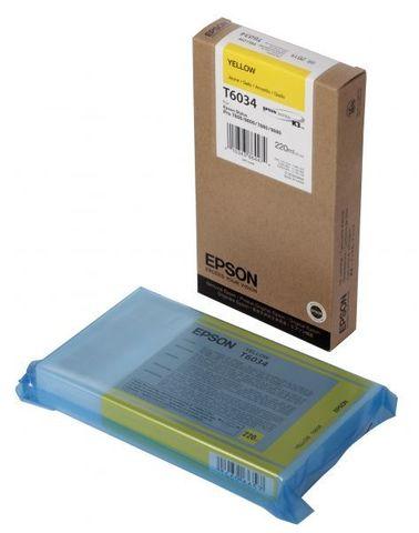 Картридж желтый Epson C13T603400 для Stylus Pro 7800/9800/7880/9880 (220 мл)