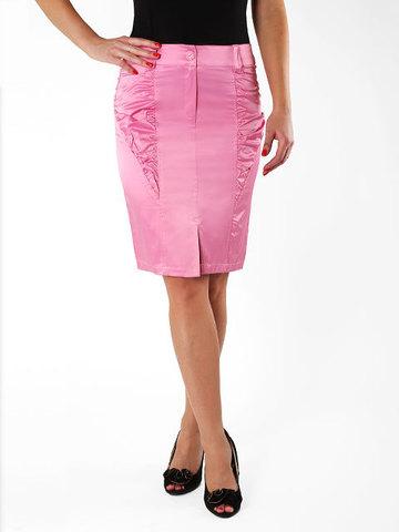 7117 юбка розовая