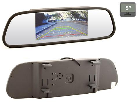 Зеркало заднего вида со встроенным монитором 5