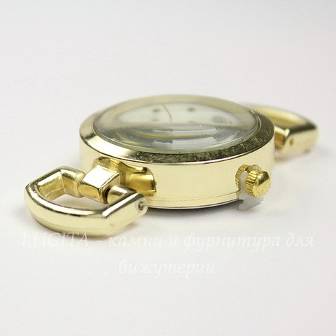 Основа для часов 48х29 мм (цвет - золото)