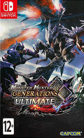 Nintendo Switch Monster Hunter Generations Ultimate (английская версия)