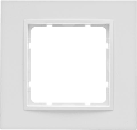 Рамка на 1 пост. Цвет Полярная белизна. Berker (Беркер). B.7. 10116919