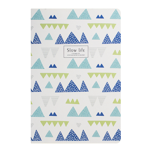 Тетрадь A5 Slow Life Triangle Blue