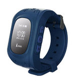 Детские GPS часы Smart Baby Watch Q50 (Цвет: Темно-синий)