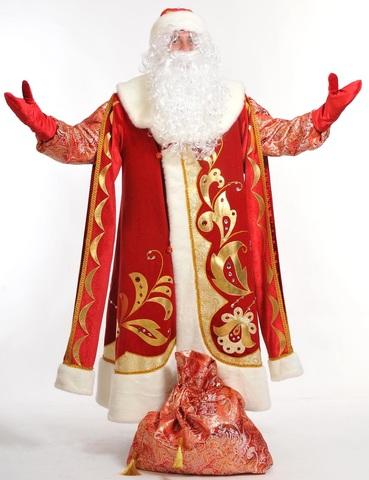Костюм Дед Мороз Хохлома