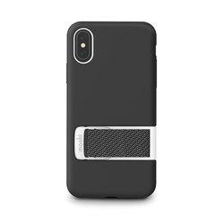 Чехол Moshi  Capto с ремешком MultiStrap для iPhone XS/X. Материал пластик. Цвет черный.