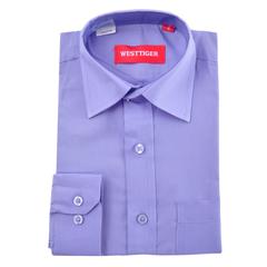 66-9 рубашка для мальчиков, синяя