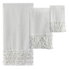 Полотенце 41х66 Creative Bath Ruffles белое
