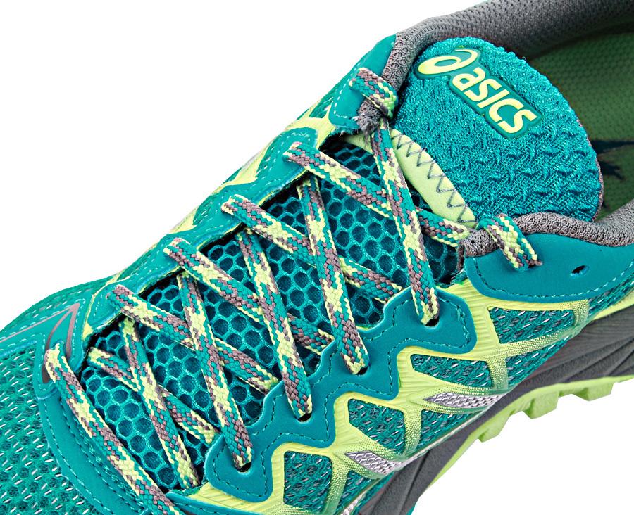 Женские кроссовки внедорожники Asics Fujitrabuco Neutral 4 (T5L8N 5393) фото шнуровка