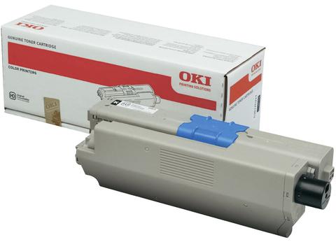 Тонер-картридж OKI C510, 530, MC561 Black 5K 44469810