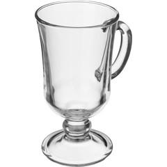 Кружка Глинтвейн стеклянная прозрачная 200 мл