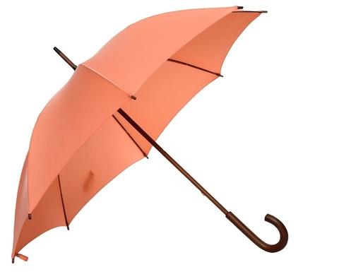 Fulton женский зонт-трость (коралловый)