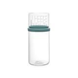 Стеклянная банка с мерным стаканом 1 л, артикул 290244, производитель - Brabantia
