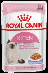 Пауч для котят с 4 до 12 мес Royal Canin Kitten Instinctive (в желе)