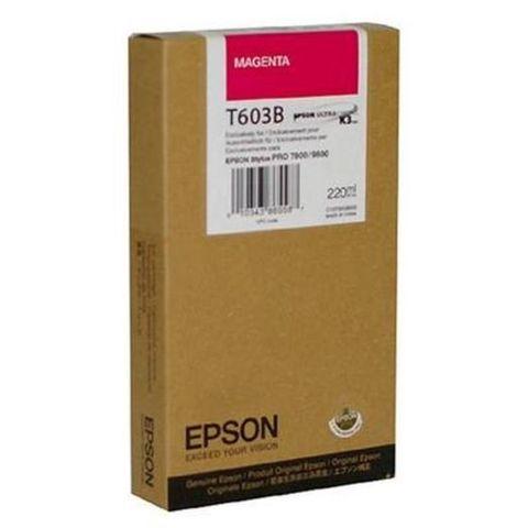 Картридж пурпурный Epson C13T603B00 для Stylus Pro 7800/9800/7880/9880 (220 мл)