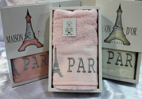 PARIS  ПАРИС полотенце махровое в коробке Maison Dor Турция