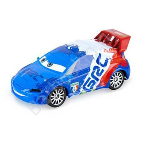 Машинка Рауль ЗаРуль (Raoul Caroule) Литая - Die Cast Vehicle, Тачки 2 (Cars 2), Disney