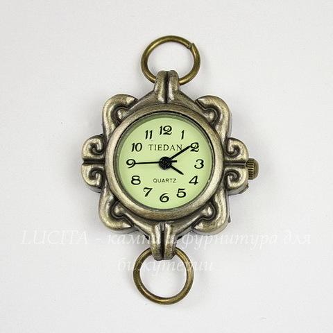 Основа для часов 45х27 мм (цвет - античная бронза)