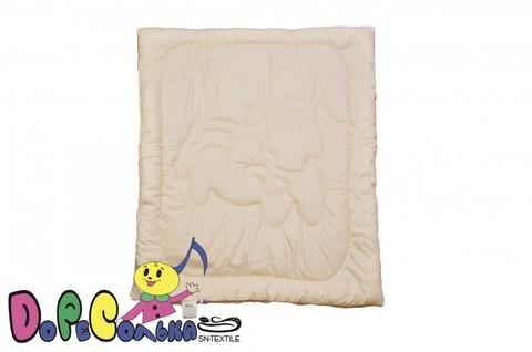Одеяло детское 110х140  Ласковый Теленок  в сатине всесезонное.