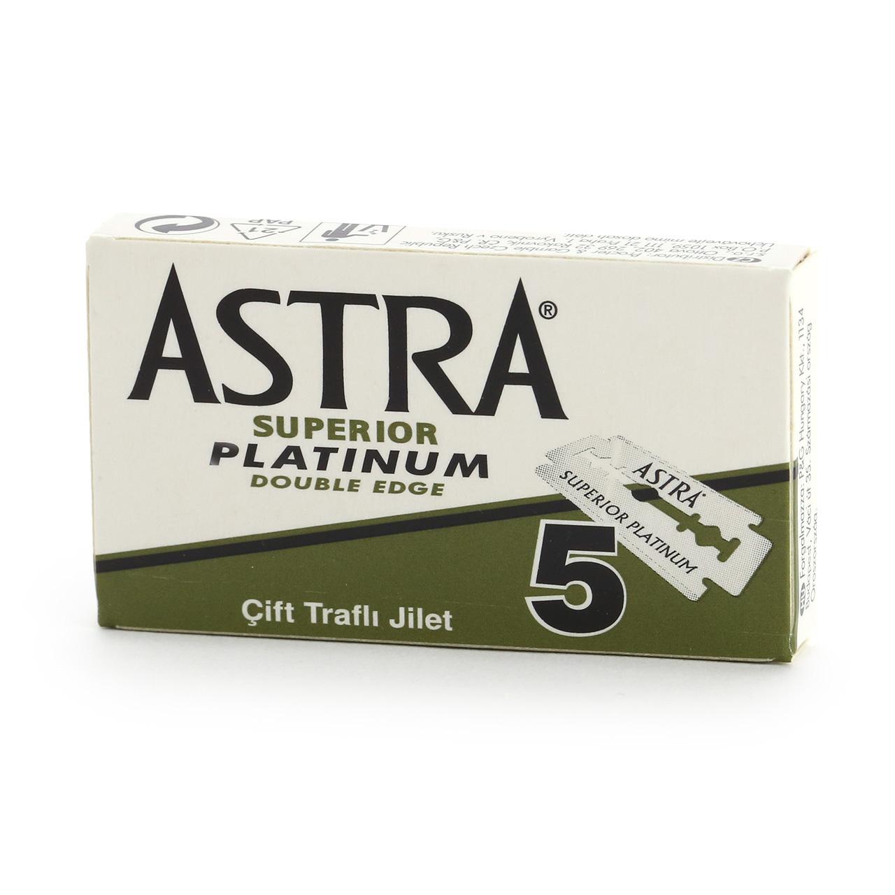 Сменные лезвия Astra Superior Platinum