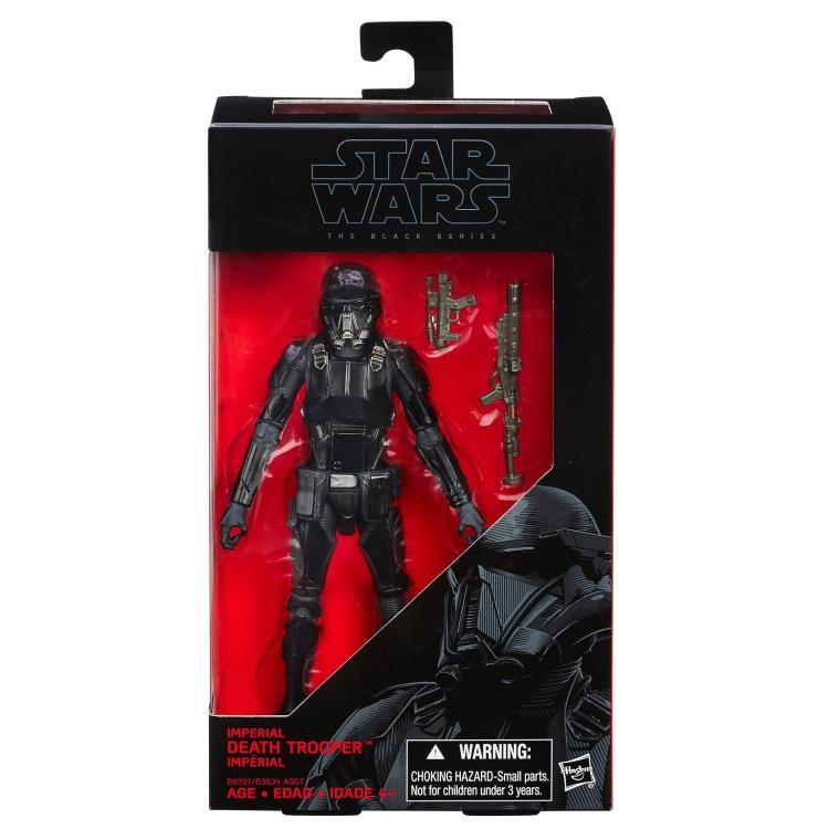 Фигурка Черного Штурмовика Star Wars: Black Series Звездные Войны