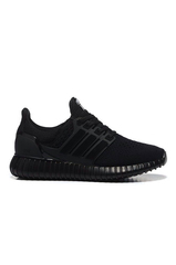 Adidas Yeezy Ultra Popcorn Boots Women Running Shoes all black