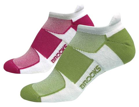 BROOKS ESSENTIAL LOW TAB  комплект женских беговых носков