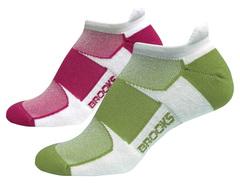 Женские беговые носки Brooks Essential Low Tab (740273-103)