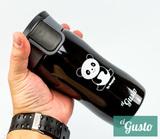 Термокружка el Gusto «Панда. Be happy!» черная 350 мл