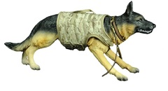 Полиция фигурка Служебная Собака 1/6 — German shepherd Police Dog 1/6 scale