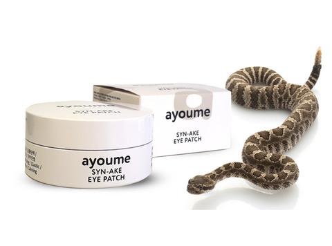 AYOUME Патчи для глаз антивозрастные со змеиным пептидом  SYN-AKE EYE PATCH 1,4гр*60 шт
