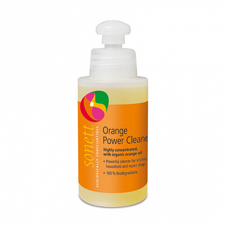 """Средство для удаления жирных загрязнений """"С маслом апельсиновой корки"""" Sonett - 120 мл"""