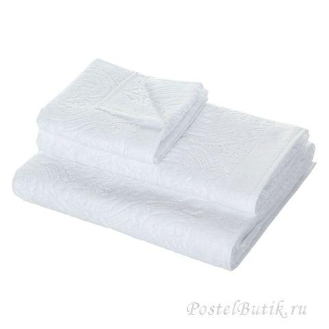 Набор полотенец 3 шт Roberto Cavalli Damasco белый
