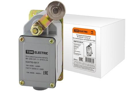 Концевой выключатель ВК-200-БР-11-67У2-25 без самовозврата 16А 660В IP67 TDM