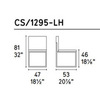 Calligaris CS_1295-LH P77 683 — Стул EVEN PLUS