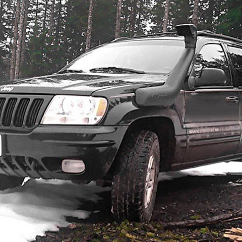 Установка шноркеля на Jeep Grand Cherokee