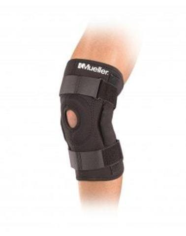 3333 REG Hinged Wraparound Knee Brace Шарнирный бандаж-обертывание на колено Черный LG