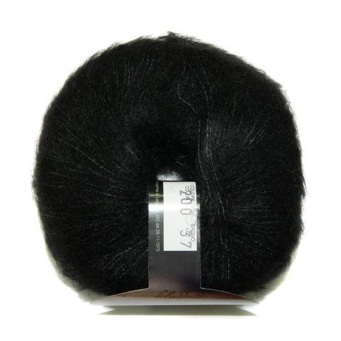 Купить Пряжа BBB Soft Dream Код цвета 0200 черный | Интернет-магазин пряжи «Пряха»