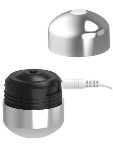 Бирюзовое виброяйцо с пультом управления Remote Cherry