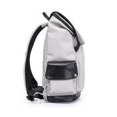 Рюкзак-торба молодёжный ноутбук 15,6 KAKA 17001 бело-чёрный