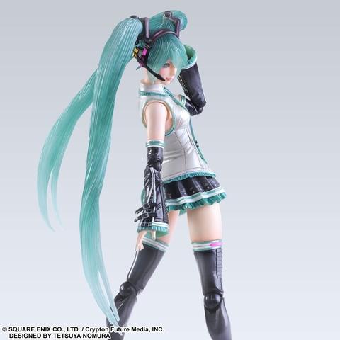Мику Хацунэ фигурка певицы (копия) — Miku Hatsune Vocaloid Play Arts Kai (copy)