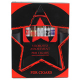 PDR Assorted Robusto 5-Pack Combo Ashtray