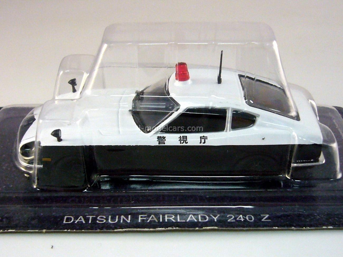 Nissan Fairlady Z (Datsun 240 Z) Japanese 1:43 DeAgostini World's Police Car #5